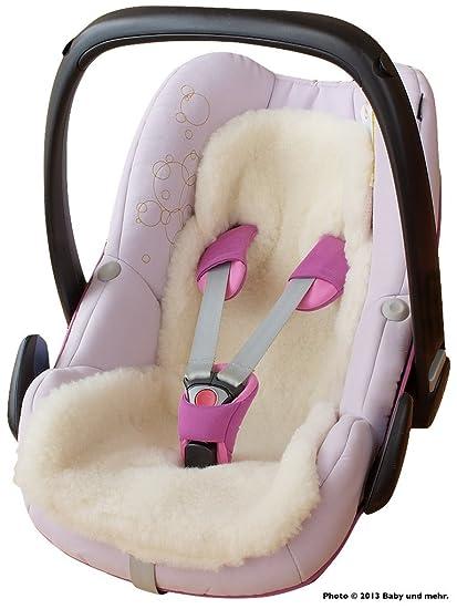 byboom® – Baby – Cordero, universal para portabebés, asiento de coche, por