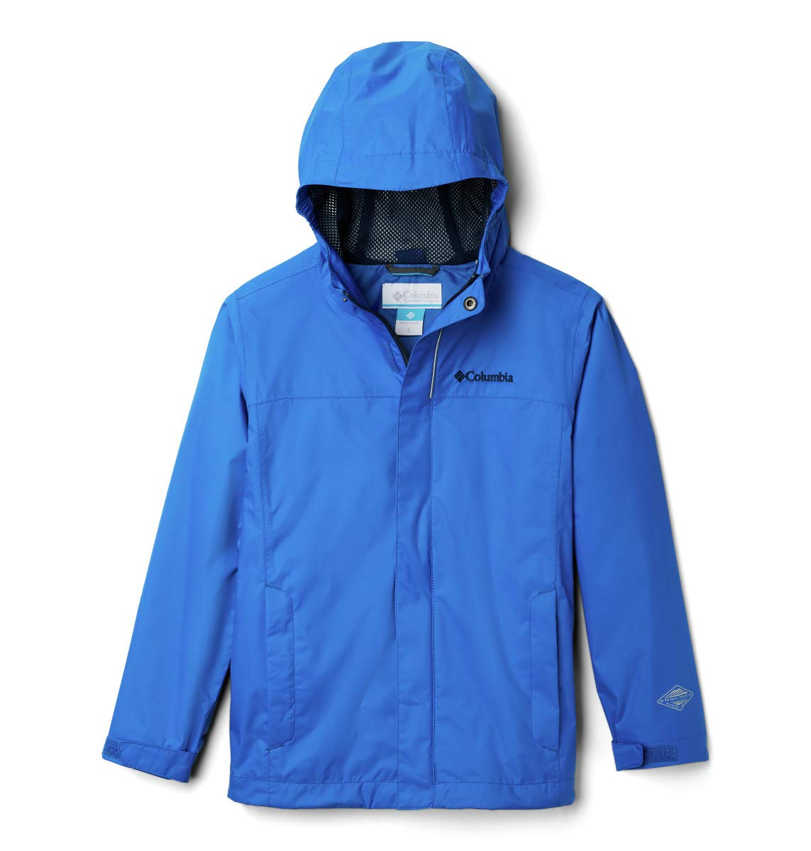 Columbia Boys' Little Watertight Jacket, Super Blue, Small