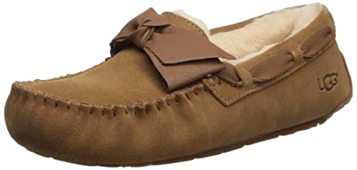 1e32c0f14c9 UGG Womens Dakota Leather Bow Slipper: Amazon.ca: Shoes & Handbags