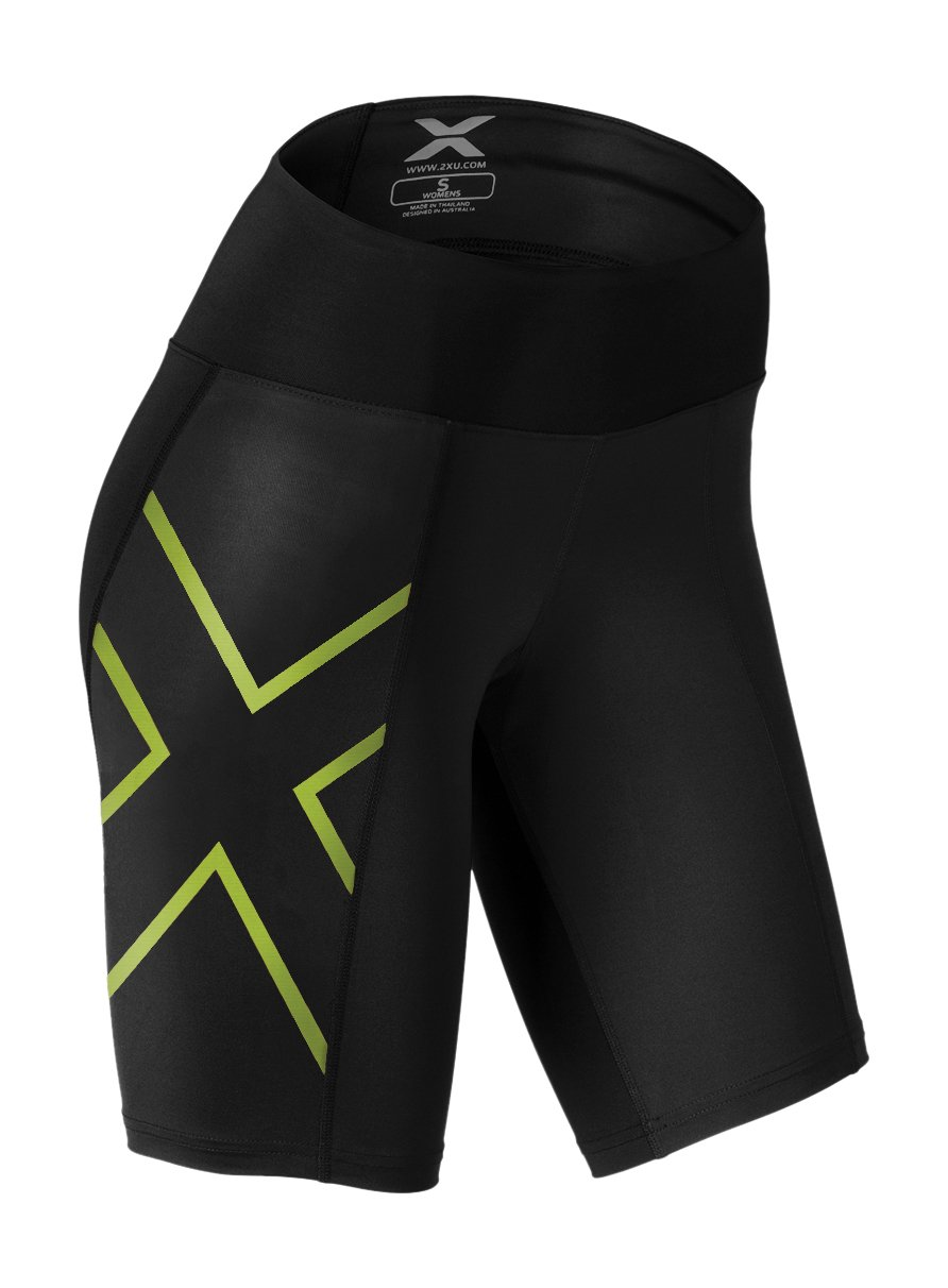 2XU Women's Mid-Rise Athletic Compression Shorts