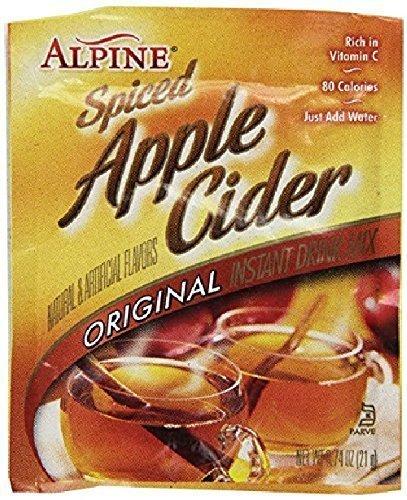 (Alpine Spiced Apple Cider Drink Mix, Original, 0.74 oz (120 count))