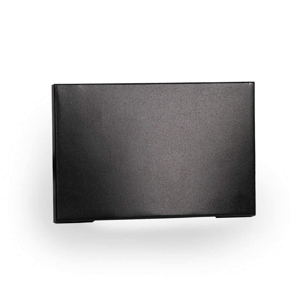 WAC Lighting WL-LED110F-C-BK 277V 3000K LED Horizontal Scoop Step and Wall Light, Black