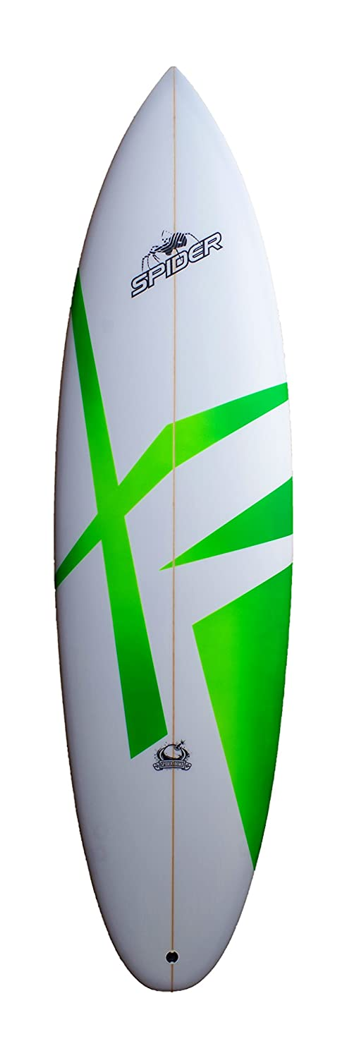 Spider Bomb Hybrid shortboard - , High Performance Tabla de Surf, onda Jinete Verde, verde: Amazon.es: Deportes y aire libre