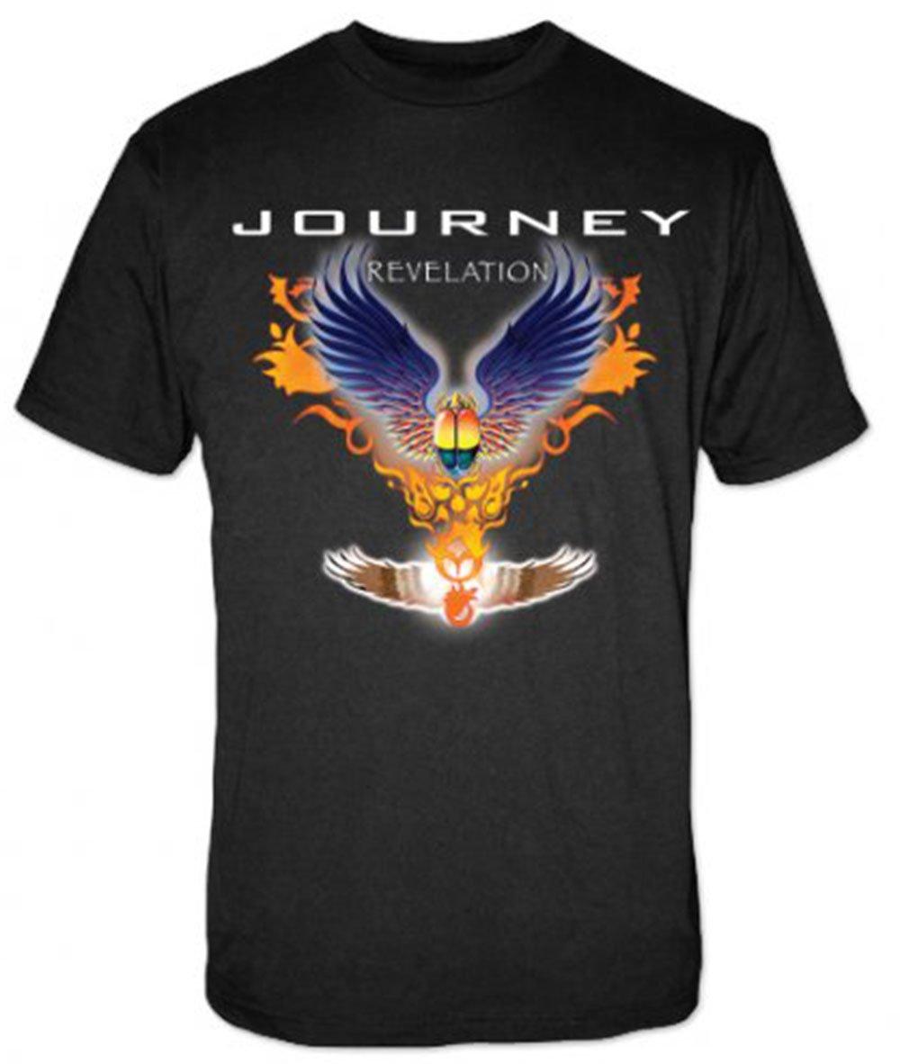 Journey S Cd Tee Revelation Tshirt X Black
