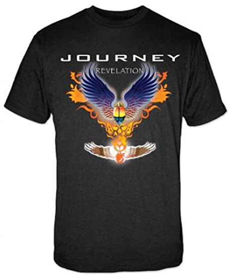 e45c4e826 Amazon.com: Journey Men's CD Tee Revelation T-shirt Large Black ...