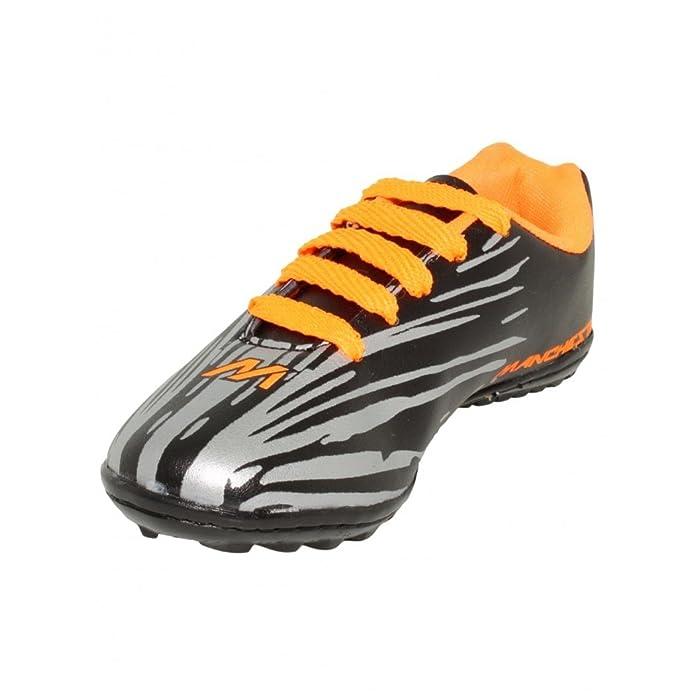 Tenis futbol rapido niño sintetico negro plata naranja - Su Favorita 19.5   Amazon.com.mx  Ropa 67c3cff479f81
