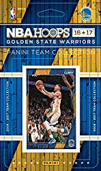 This is a brand new 2016 / 2017 Golden State Warriors Hoops Basketball Factory Sealed NBA Licensed 9 Card Team Set with Stephen Curry, Klay Thompson, Draymond Green, David West, Kevin Durant, Zaza Pachulia, Shaun Livingston plus rookie cards of Damia...
