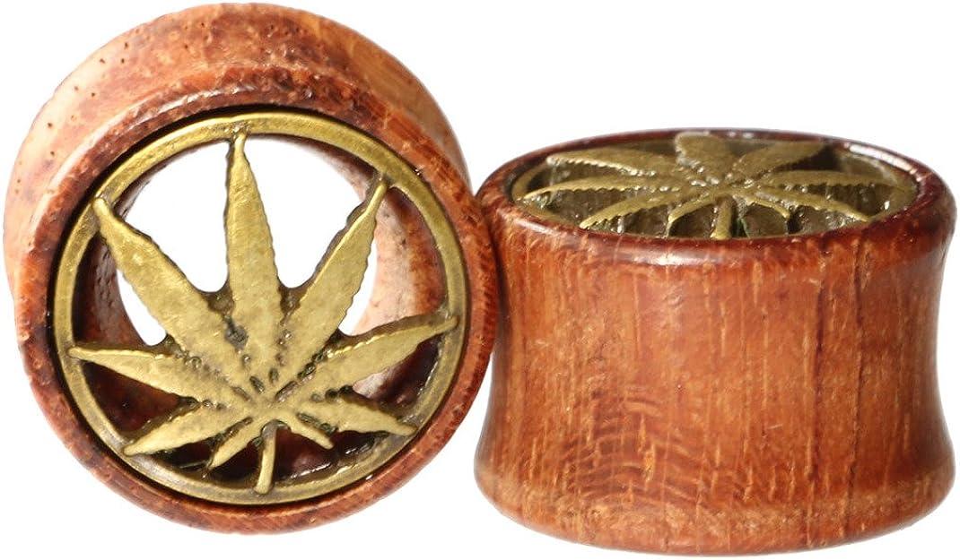 Amazon.com: Oasis Plus latón Pot Leaf marihuana Organic ...