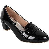 Adjoin Steps Stylish Women's Black Formal Bellies/Formal Ballet Shoes