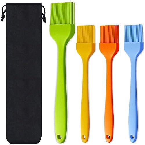 Consevisen Basting Brush Silicone Heat Resistant Pastry Brushes