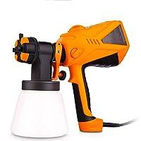 $156 » Plohee Paint Sprayer 600 Watt Electric Sprayer HVLP Paint Guns for Home House, 3 Spray…