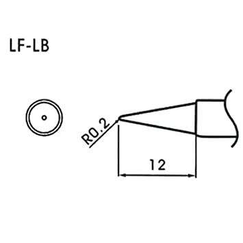 AOYUE WQ/LF-LB Puntas soldadura sin plomo cónico R0.2mm Estación de Soldadura Soldador: Amazon.es: Bricolaje y herramientas