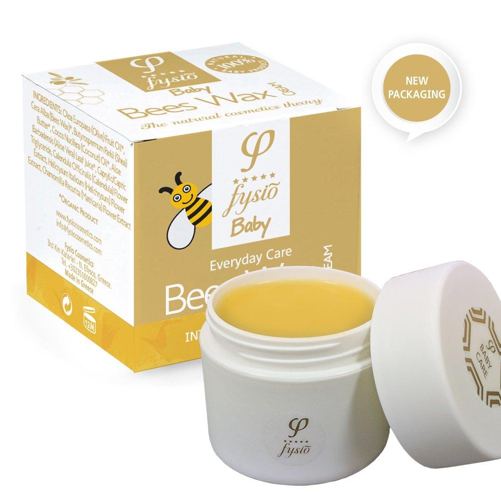 Crema Pañal - Hidratante para Bebés - Con Cera de Abejas Orgánica, Aceite de Oliva