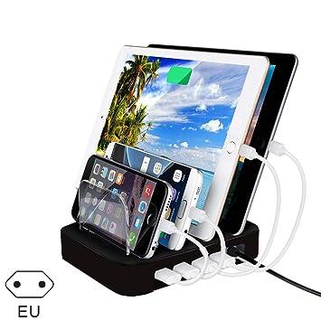 yangGradel 4 Puertos Carga USB Estación Universal ...