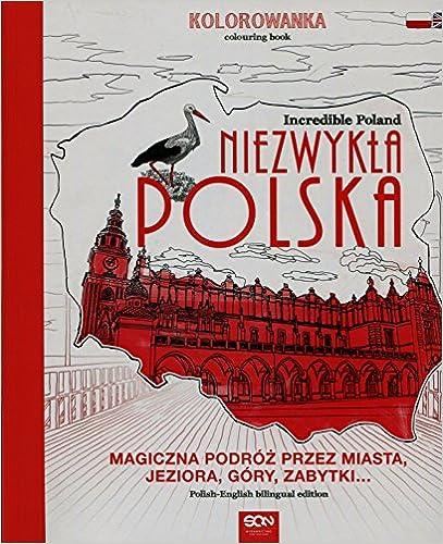 Book Niezwykla Polska Kolorowanka Incredible Poland