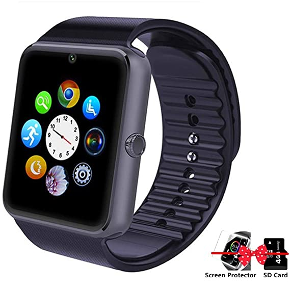 Amazon.com: ANVRUVRN Smart Watch Phone, Smartwatch with ...