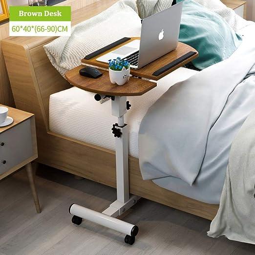 NO BRAND Mesa Plegable portátil para el hogar Mesa Ajustable al ...