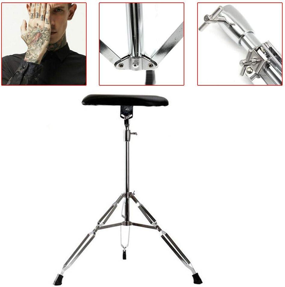 bracciolo con treppiede regolabile in altezza 100 cm poggia gambe Bracciolo portatile per tatuaggi bracciolo regolabile 65 bracciolo leggero