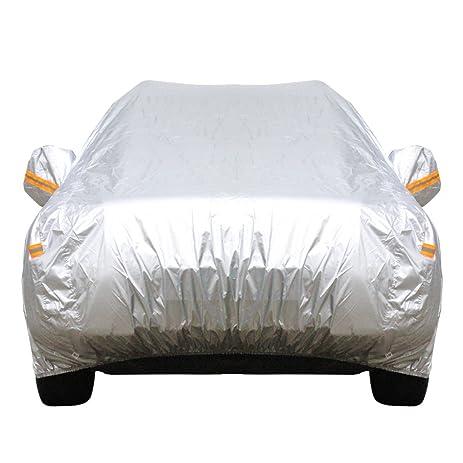 Amazon.com: Cawanerl Portable Car Cover All Weather Sun Rain Snow ...