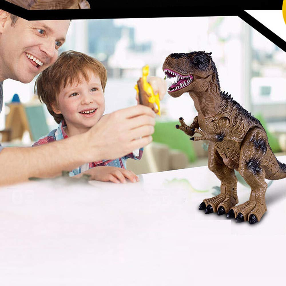 Sannysis Christmas Decor, Remote Control Walking Dinosaur Toy Fire Breathing Water Spray by Sannysis (Image #4)