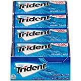 Trident Sugar Free Gum, Original Flavor, 18 Count (Pack of 12)