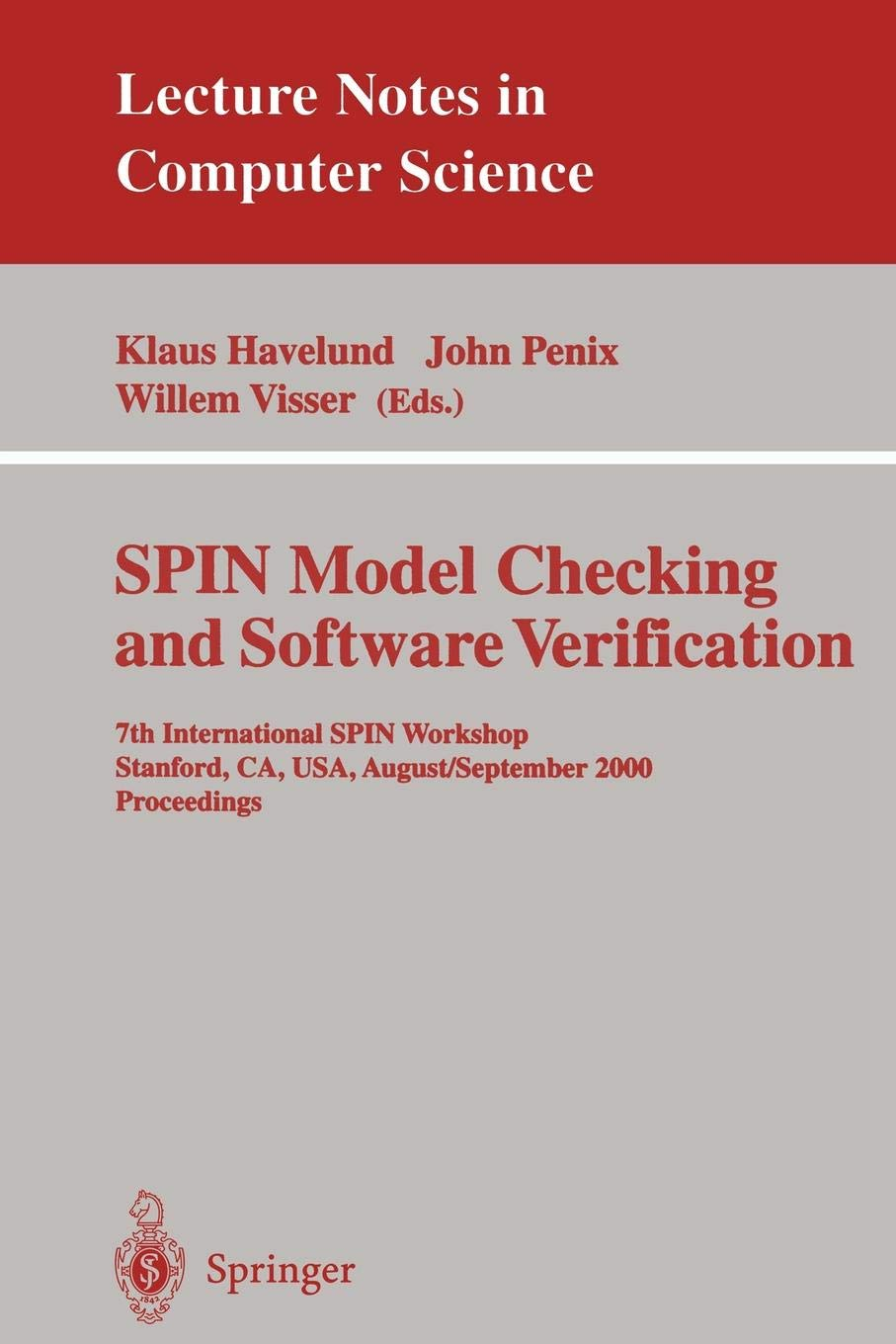 SPIN Model Checking and Software Verification: 7th