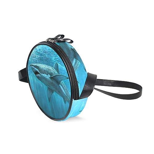 bb3362ff7089 Amazon.com: Womens Crossbody Bags Shark Fish Girls Purse Handbags ...