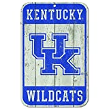 WinCraft Kentucky Wildcats Official NCAA 11'' x 17'' Fence Plastic Wall Sign 11x17 by 807656