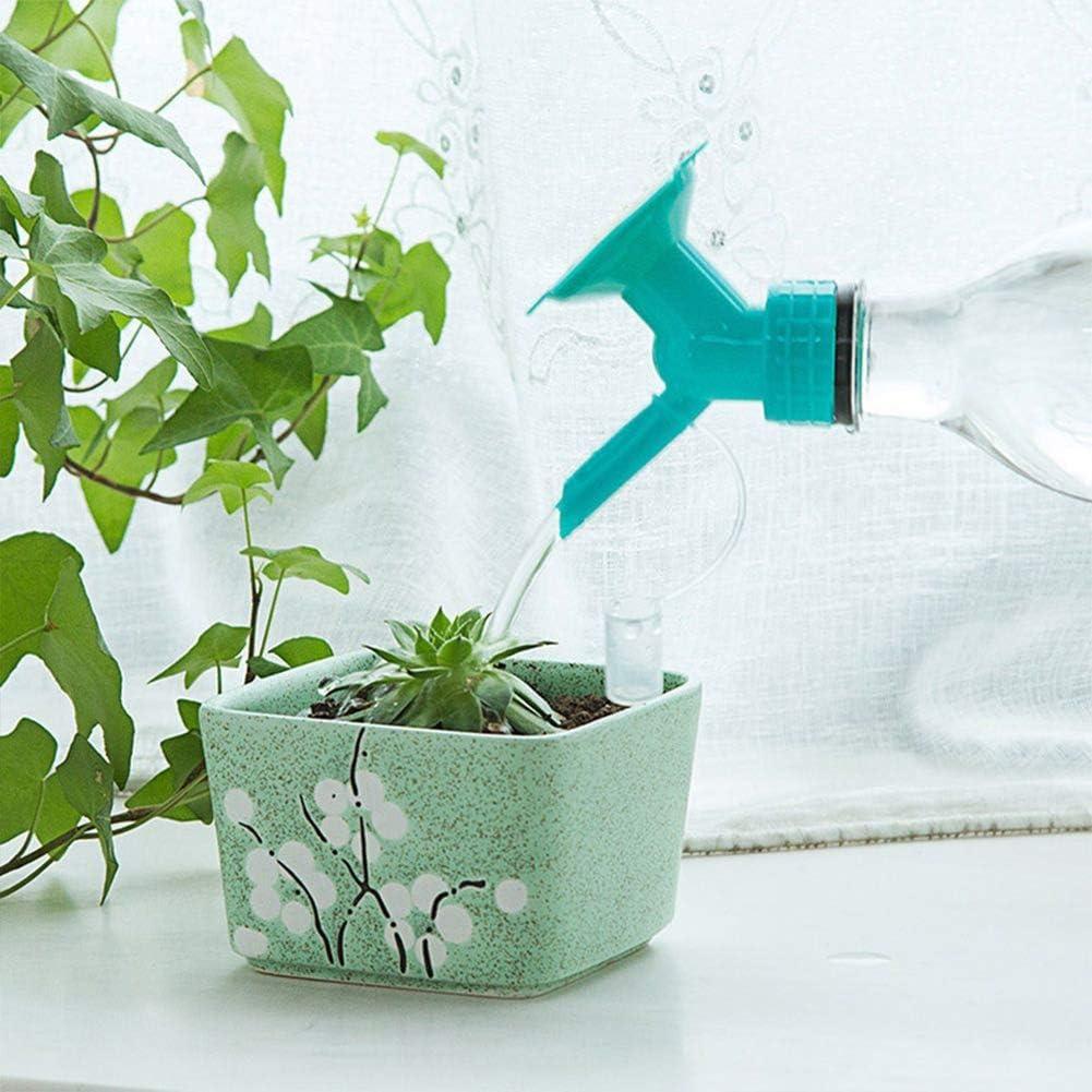 Austinstore Double End Nozzle Shower Head Garden Flower Plant Watering Bottle Sprinkler for Watering Plants or Flowers