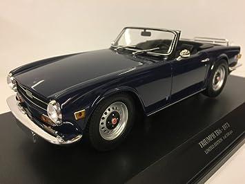 Minichamps 155132032 1973 Triumph TR6 Lhd Model Car, Blue: Amazon co