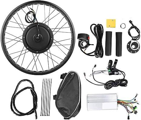 Keenso 48V 1000W Kit de conversión de Motor de Bicicleta eléctrica ...