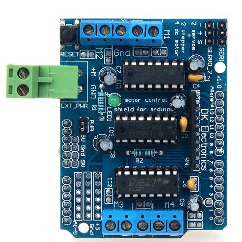 Geeetech Motor Drive Shield(with L293D) for Arduino Mega UNO R3 Duemilanove AVR ATMEL