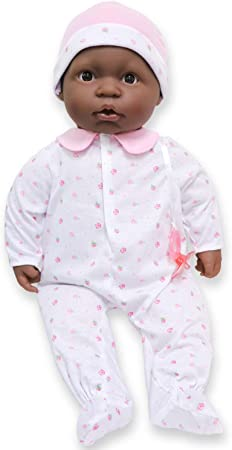 JC Toys - La Baby African American Soft Body Baby Doll, 20