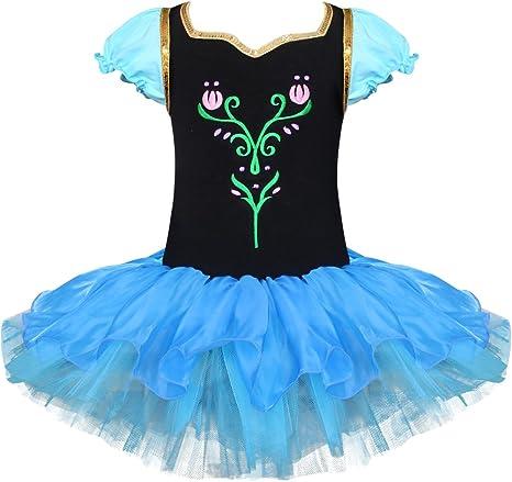 TiaoBug - Disfraz para niña, Vestido de Princesa con Falda de tutú ...