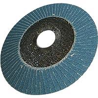 Silverline 783164 Zirkonium Flap Disc 40 Grit, 100 mm
