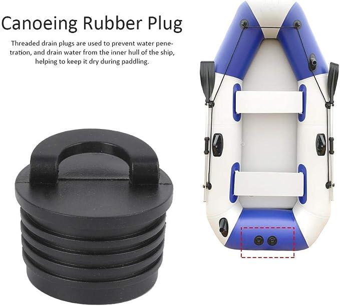 Drain bungs Thread Plugs Accessories Kayaking Canoeing Rafting Practical