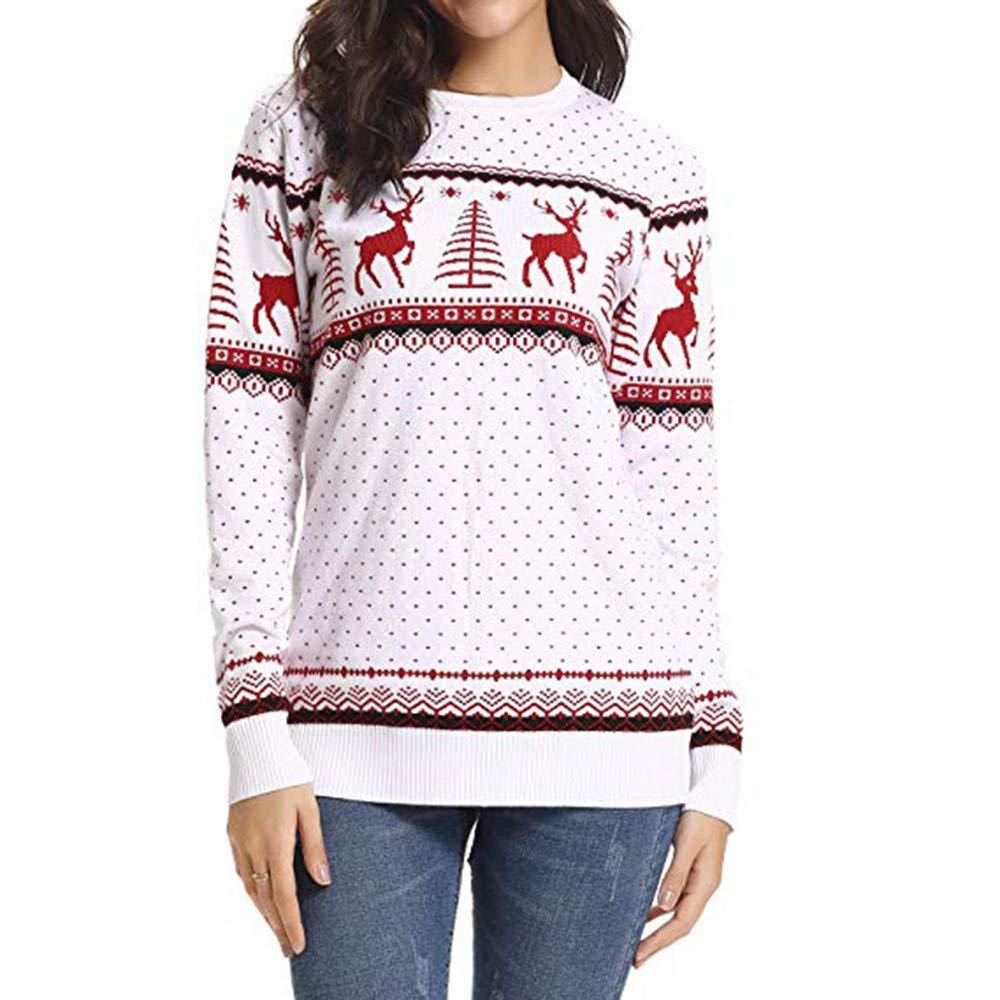 ELECTRI Noël Chaud Hiver Capuche Sweatshirt Cavalier Pull Hooded Paquet Parent-Enfant Femme Mère Enfant Bébé Fille Bande Capuche Tops Vêtements