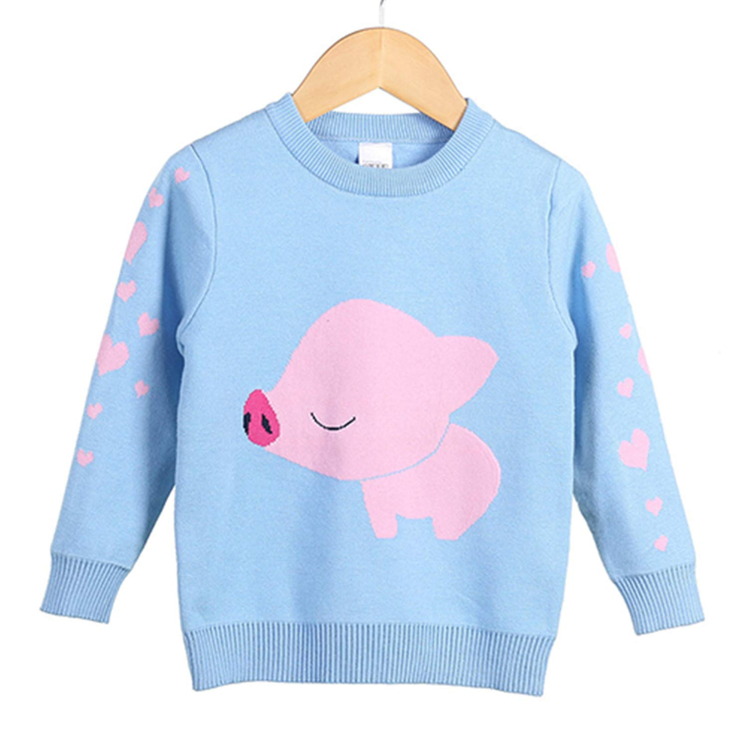 Gail Jonson 12 Style Kids Cartoon Sweaters Autumn Girls Boys Casual Thick Woolen Warm Clothes for 3-10 Years 15 6