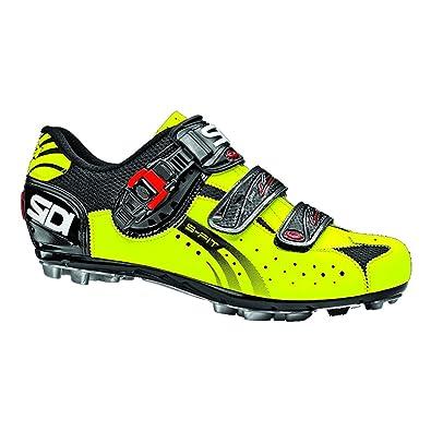 Sidi , Chaussures Eagle 5 Fit Noir Jaune fluo mat , pointure 42
