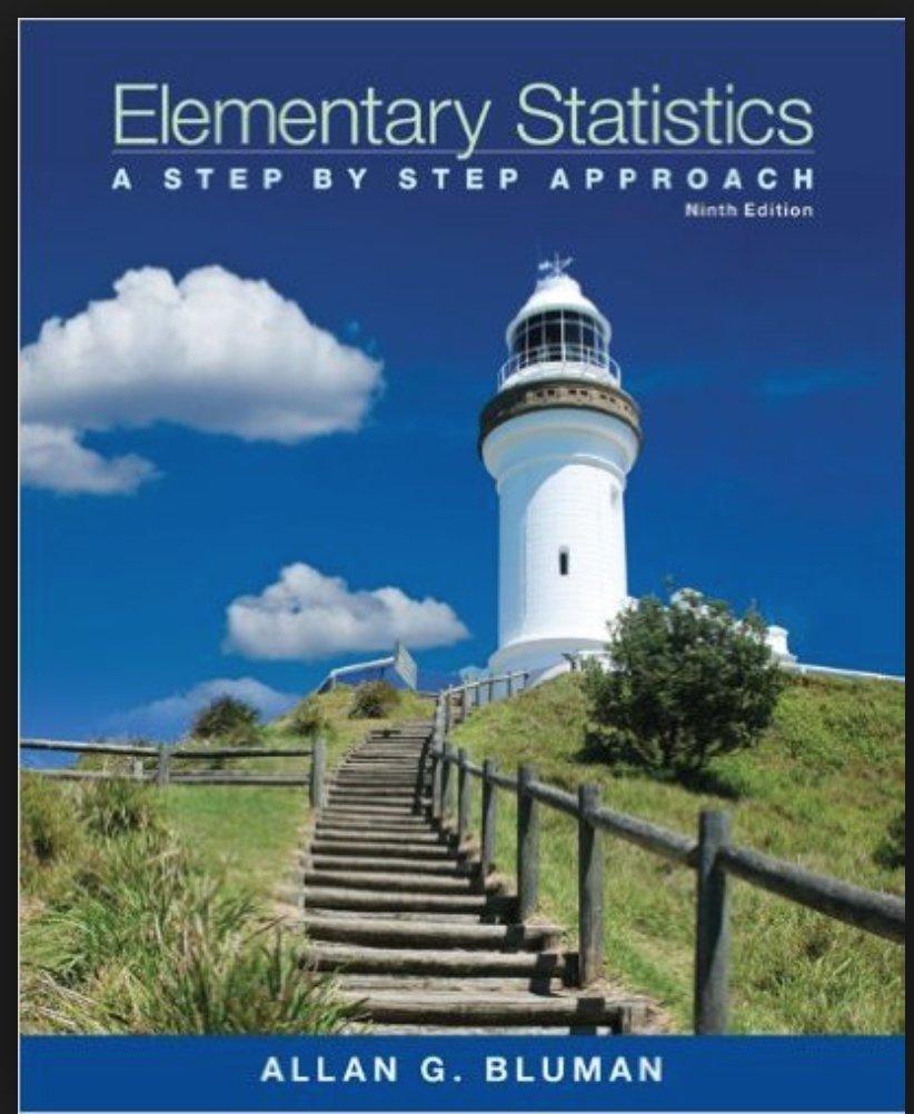 Elementary Statistics A Step By Step Approach Allan G Bluman