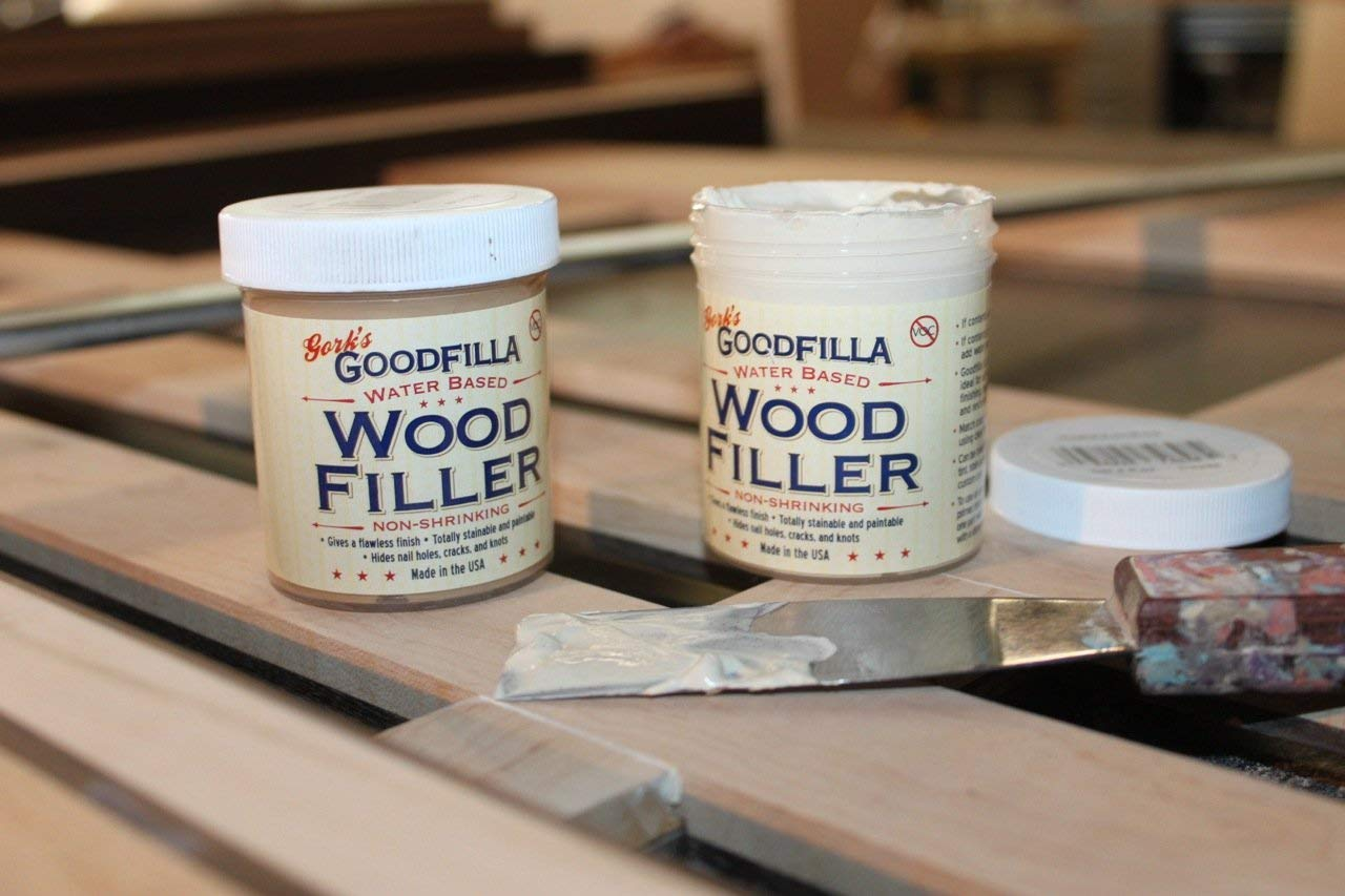Water-Based Wood & Grain Filler - White Oak - 3.5 Gallon by Goodfilla | Replace Every Filler & Putty | Repairs, Finishes & Patches | Paintable, Stainable, Sandable & Quick Drying by Goodfilla (Image #2)