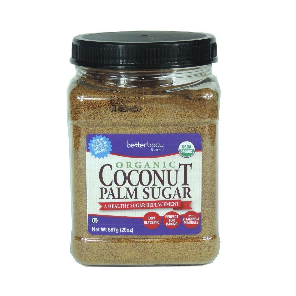 BetterBody - Organic Coconut Palm Sugar - 567g