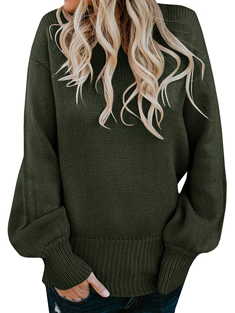 502971ae04984a Geckatte Womens Sexy Sweaters Backless Oversized Long Sleeve Loose Knitted  Sweater Pullover Jumper at Amazon Women's Clothing store:
