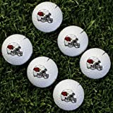 Wilson NFL Arizona Cardinals Golf Ball, Pack of 6