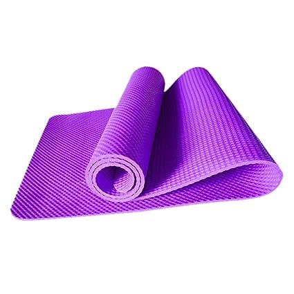 WY1688 Yoga Mat 183 Cm X 61 Cm (72 Pulgadas X 24 Pulg), 8 Mm ...