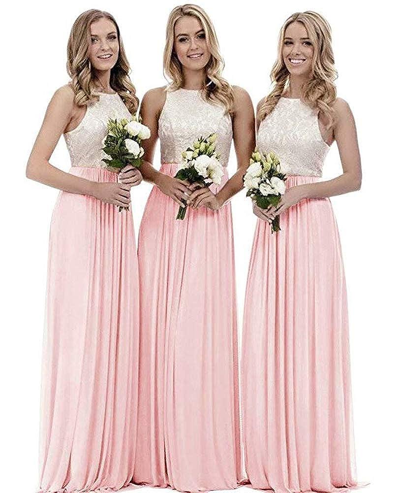 bluesh FNKS V Neck Beaded Floor Length Evening Dress Bridesmaid Gown