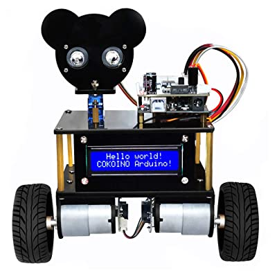 LK COKOINO Self Balancing Robot Kit for Arduino with Two Wheels and R3 Board, Bluetooth Control, Easy to Assembly and Code, A Lot You Can Learn: Computers & Accessories