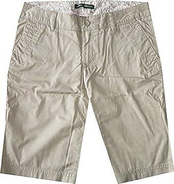 Shorts Bermudas Mujer de Eddie Bauer - algodón, Arena, 100 ...
