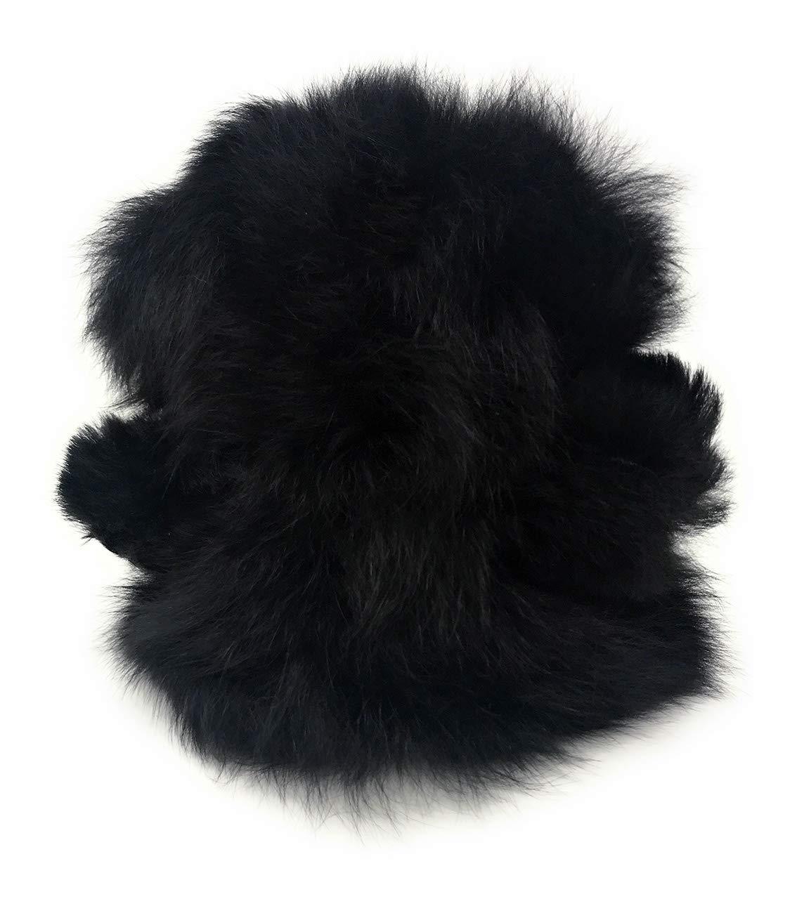 Inch Black Coal Baby Alpaca Fur Sitting Chubby Bear Hand Made 5 Each Bear is Unique Inca Fashions