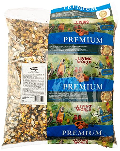 Living World Large Parrots Premium Mix Handle Bag, 20-Pound by Living World